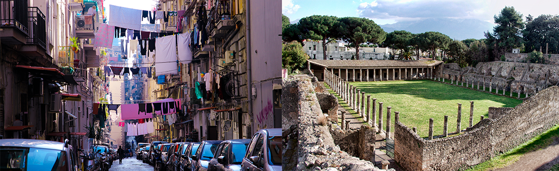 Неаполь и Помпеи