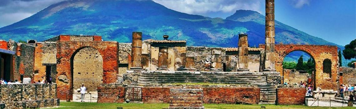 Excursion from Rome to Pompeii
