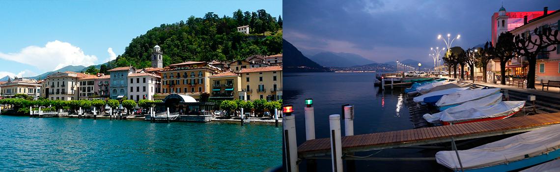 Como and Lugano